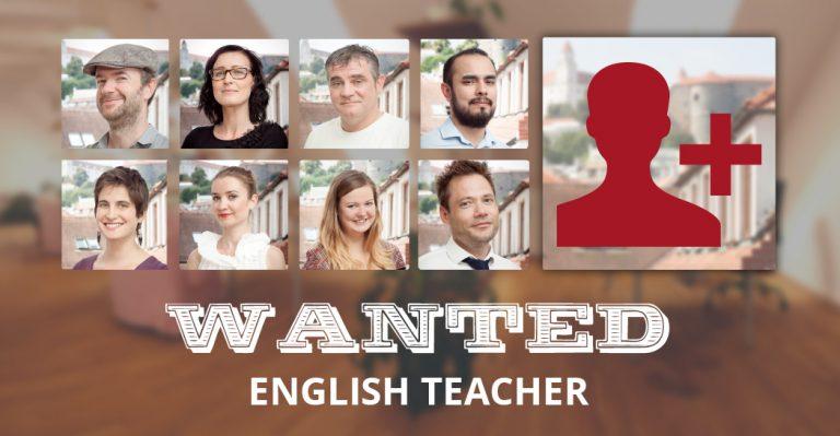 English teacher WANTED