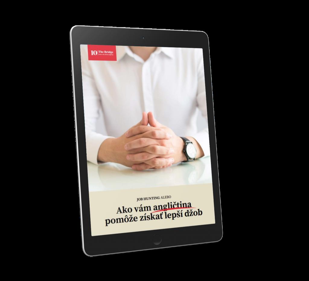 E-BOOK cover -  Ako vám angličtina pomôže získať lepší džob
