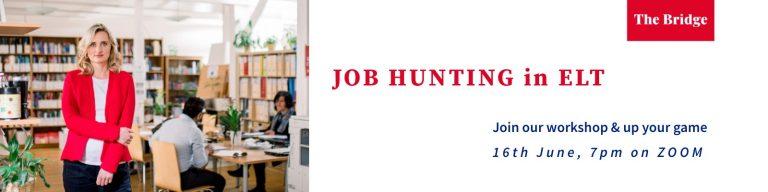 Job hunting in ELT